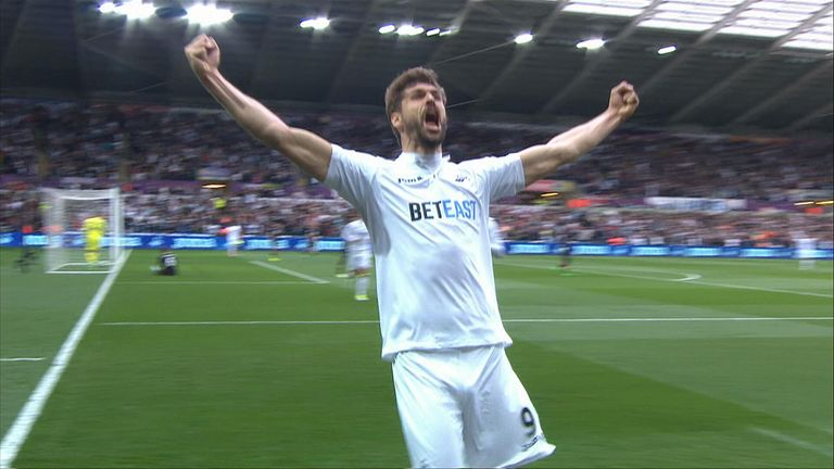 Swansea 1 - 0 Everton highlights