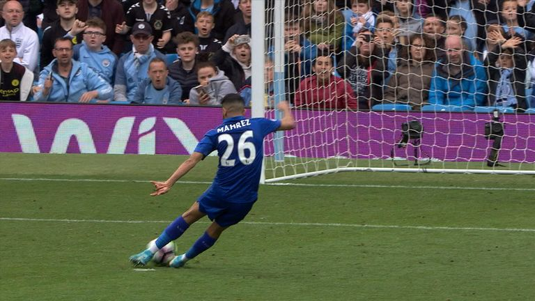 Mahrez rues disallowed penalty as Leicester City lose at Manchester City