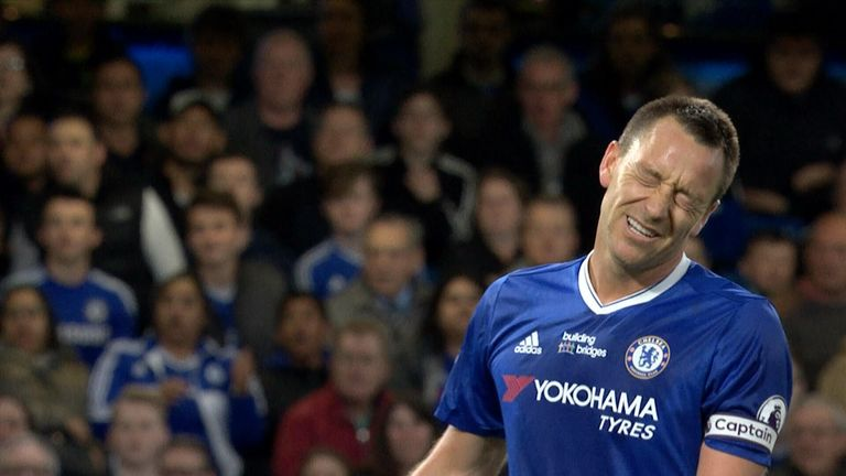 Watch John Terry score - and then give away a goal moments later against Watford