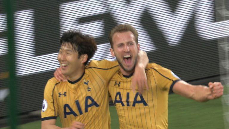 Kane scores four in Spurs thrashing