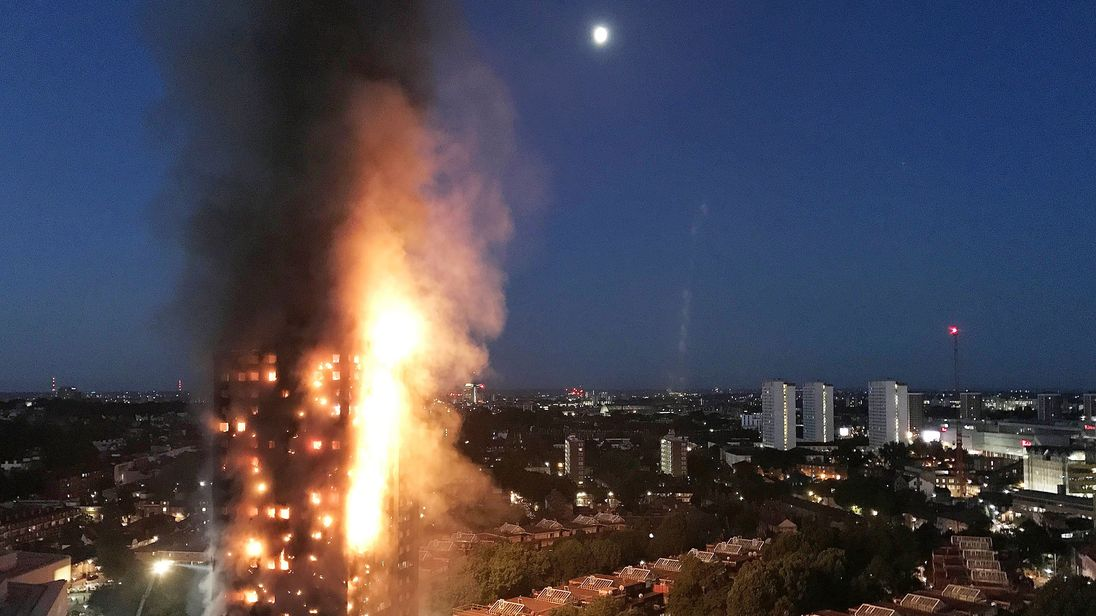 Grenfell Tower: Police consider manslaughter charges and 'every criminal offence onwards'