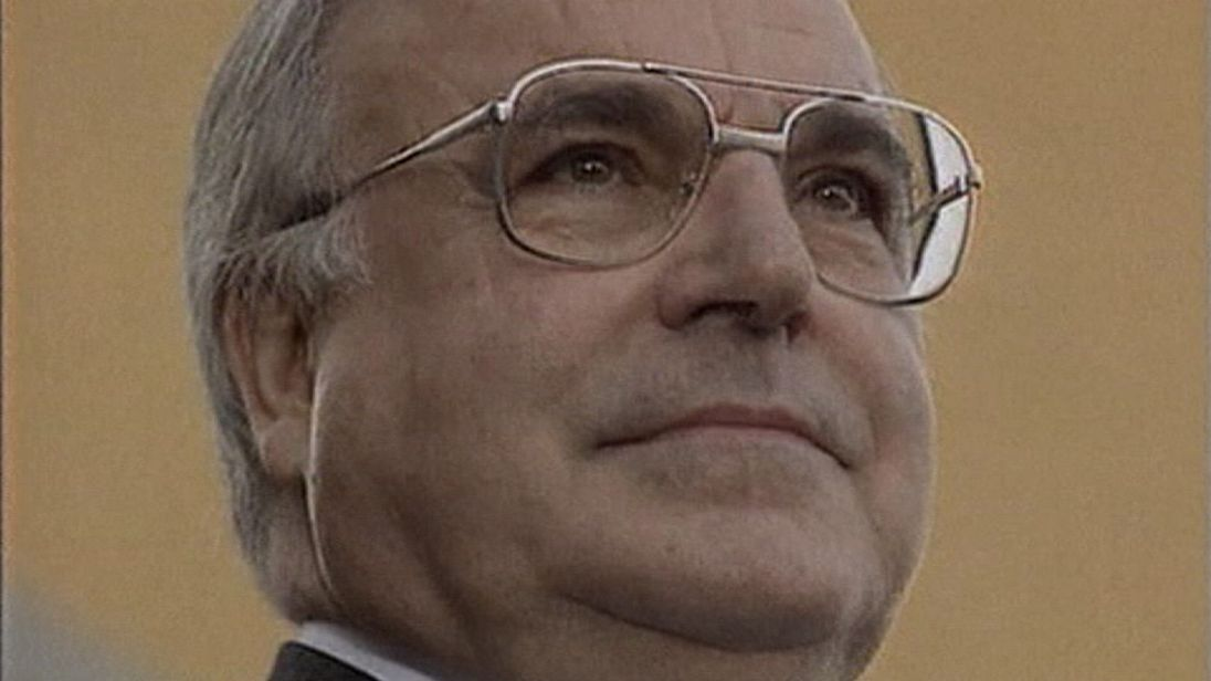 Helmut Kohl served as German chancellor for a record 16 years