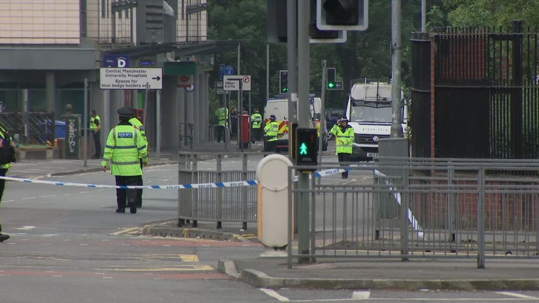 Manchester police find 'significant' vehicle
