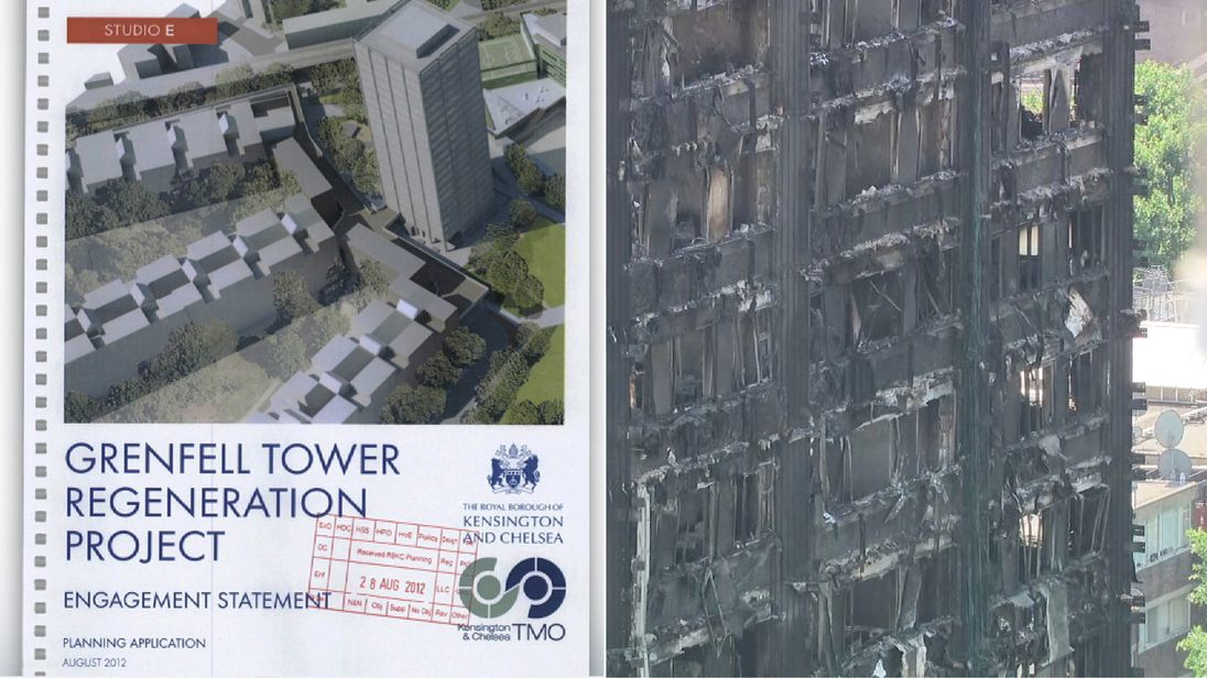 Documents show Grenfell Tower residents were consulted about cladding in 2012