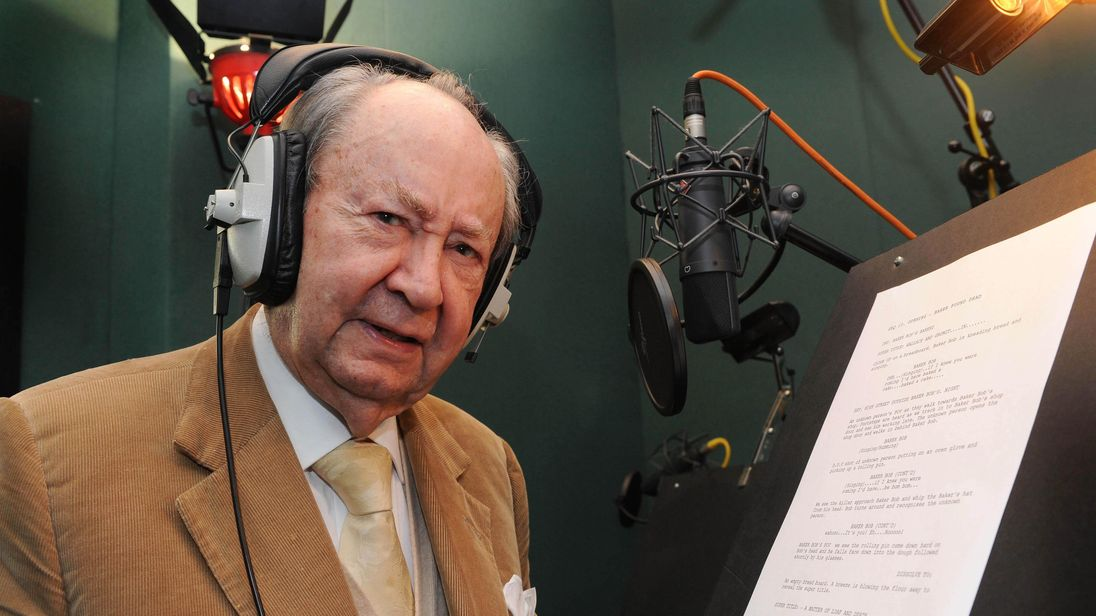 Actor Peter Sallis dies aged 96