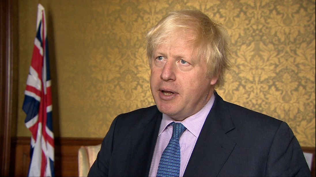 Boris Johnson softens stance on the Brexit bill