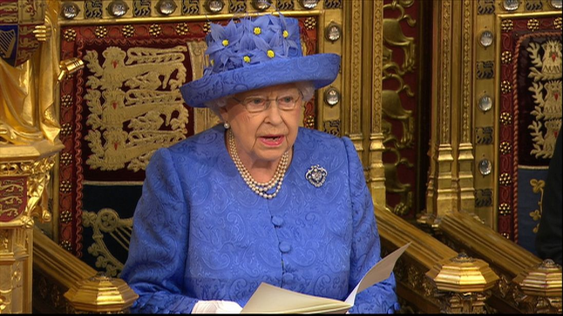 In Speech, Queen Indicates Trump May Not Be Visiting After All