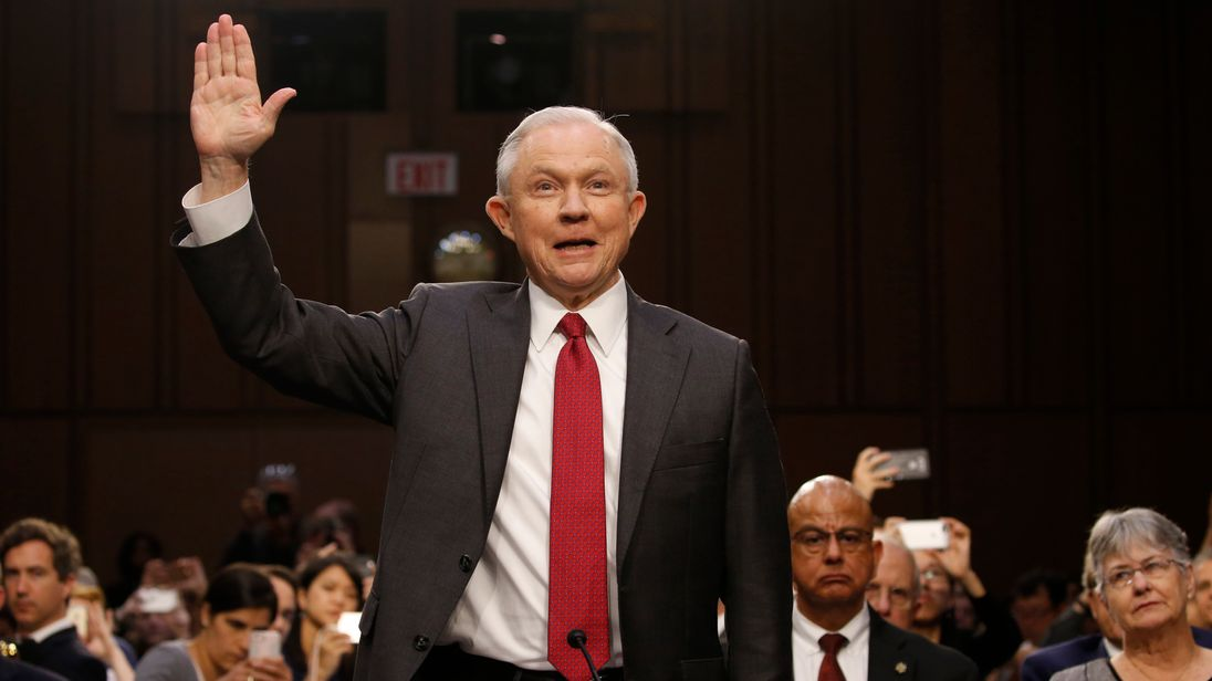 AG Jeff Sessions Testifies Before Senate Intelligence Committee
