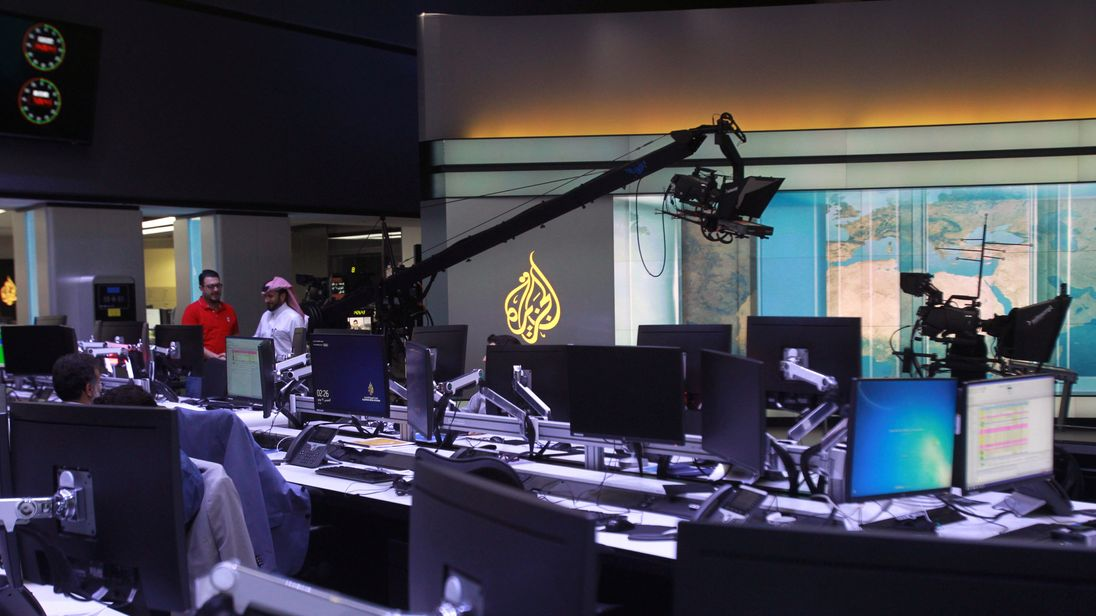 Al Jazeera is based in Qatar's capital Doha
