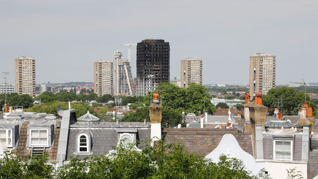 United Kingdom high rises may have Grenfell-type cladding