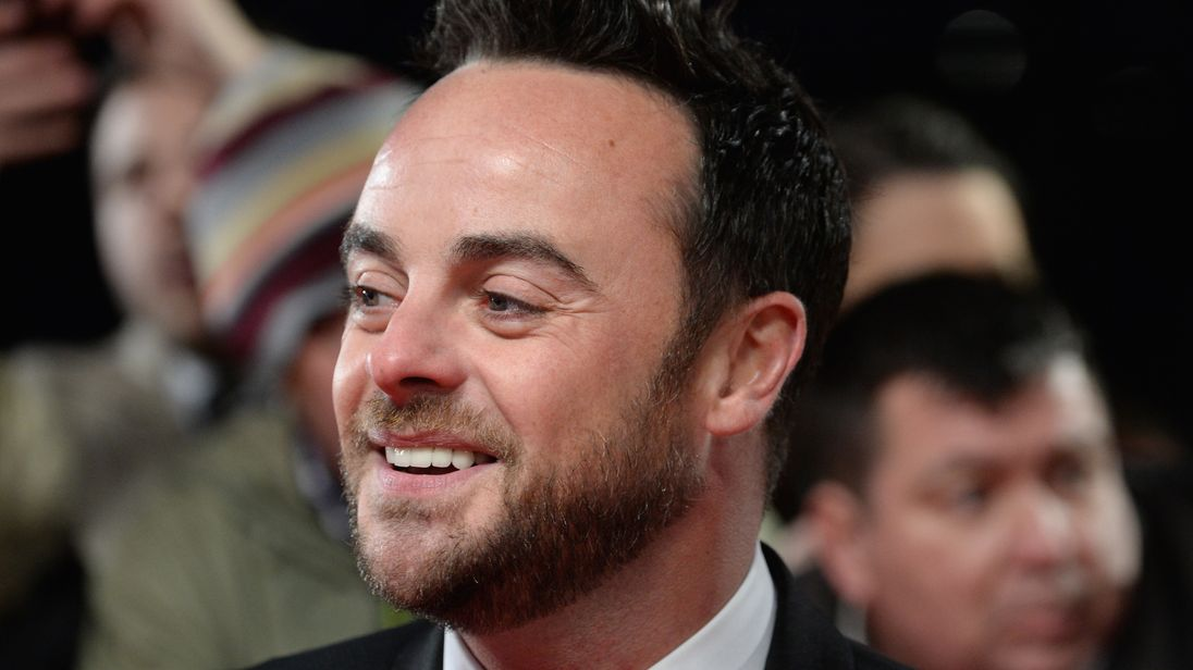 Ant McPartlin says he wants to help others by talking about his problems