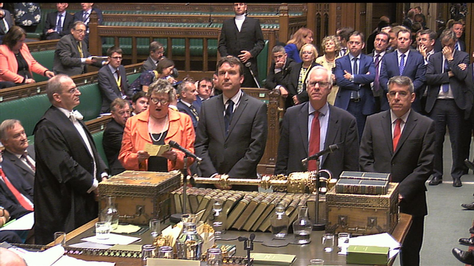 The Labour amendment to the Queen's Speech was defeated