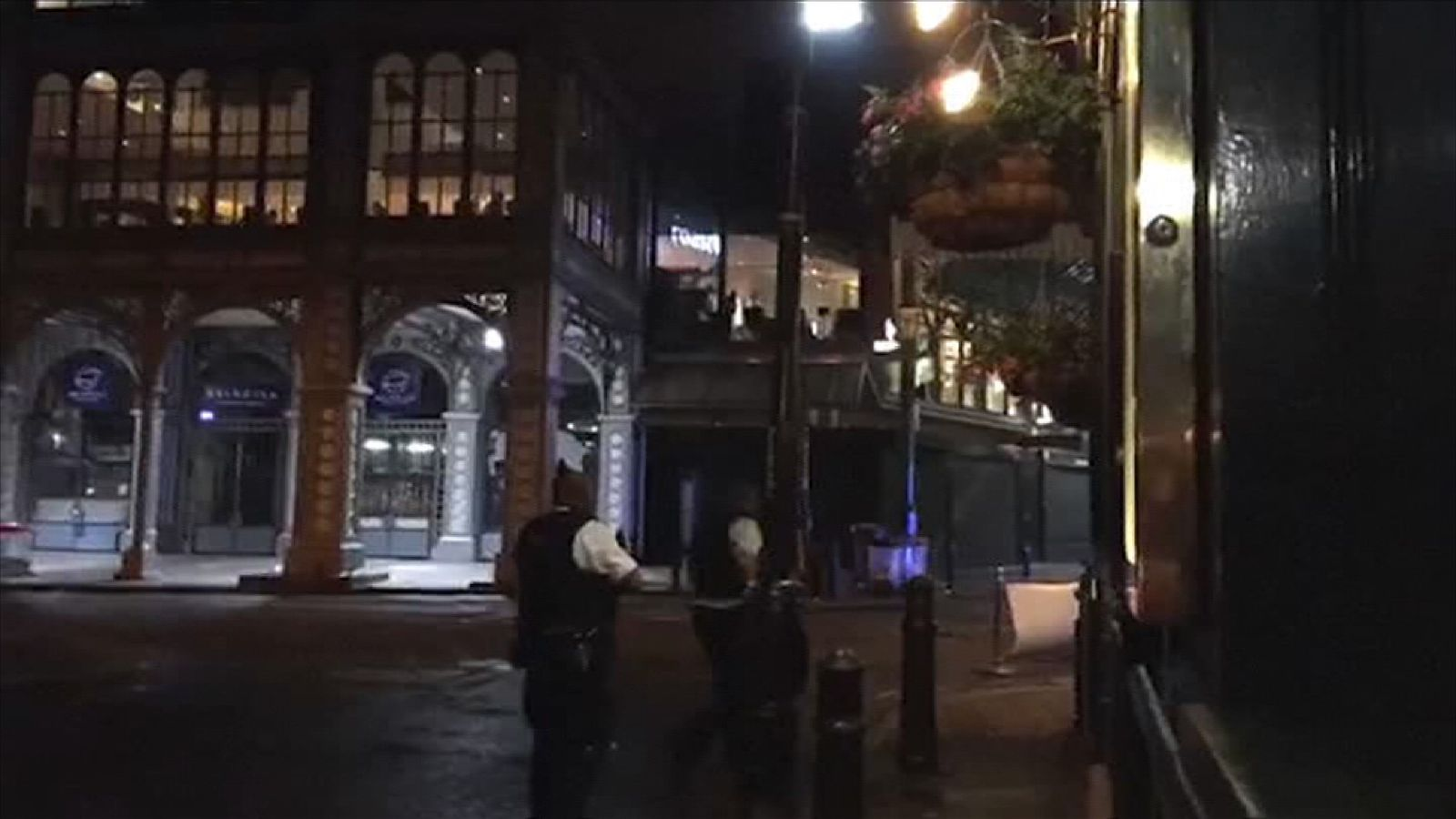 Police hunt for the London Bridge attackers