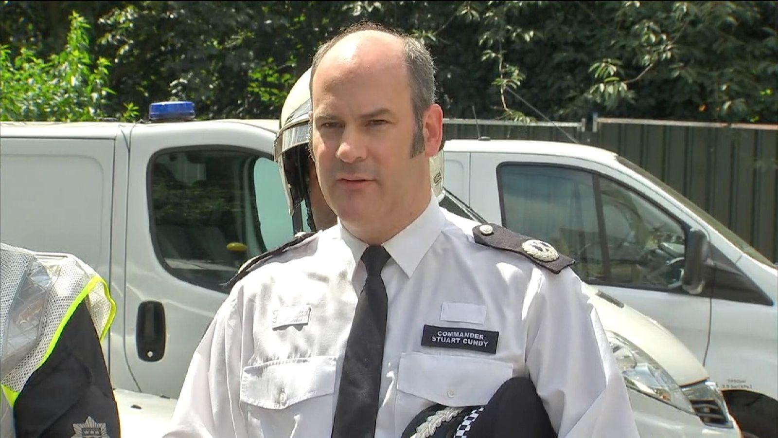 Metropolitan Police Commander Stuart Cundy