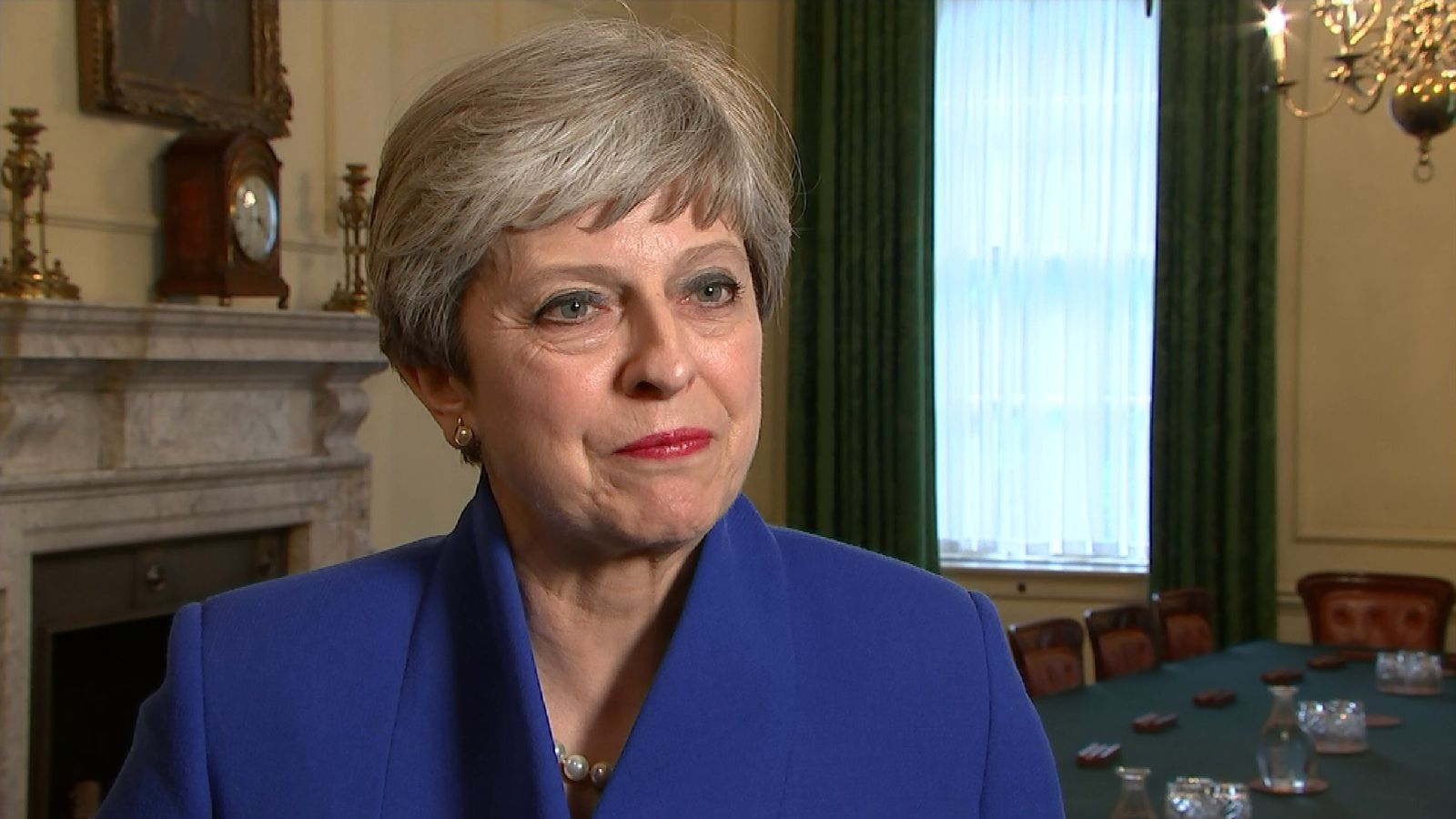 Conservatives are only party who can form a UK government: May
