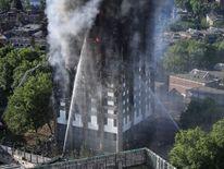 Huge Fire Engulfs West London Grenfell Tower Block