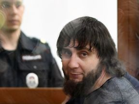 Zaur Dadayev, charged with masterminding and carrying out the assassination of politician Boris Nemtsov