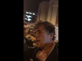 This man was held by passers-by until police arrived