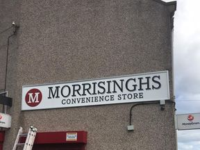 The owner of Morrisinghs is worried about getting another letter from lawyers