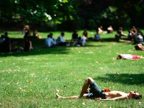 Soaring temperatures ensured the warmest summer solstice on record