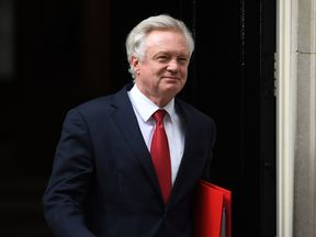 Brexit Secretary David Davis will begin formal negotiations next week