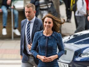 Kate arrives at Kings College Hospital to meet staff and patients affected by the terrorist attacks