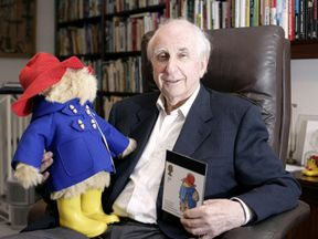 Paddington Bear and his creator Michael Bond