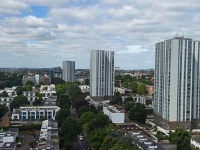Four tower blocks in Camden were among those identified as having suspect cladding