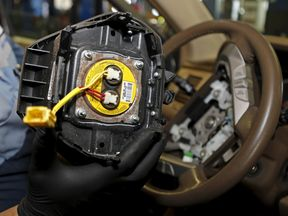 At least 16 people have died after faulty Takata airbags sprayed shrapnel in cars