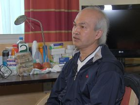 Antan Nguyen smelt smoke in his 15th floor flat, but lost his wife and son on the stairs as they tried to escape