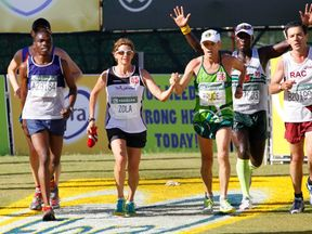 Fordyce won the Comrades Marathon nine times, including eight in a row from 1981-88