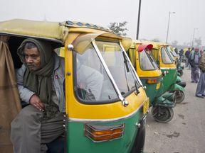 Indian autorickshaws