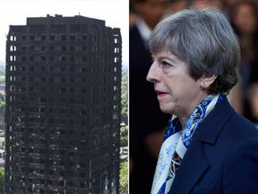 Theresa May said the response to Grenfell Tower was 'not good enough'