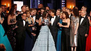 Producer Stacey Mindich accepts Best Musical for Dear Evan Hansen