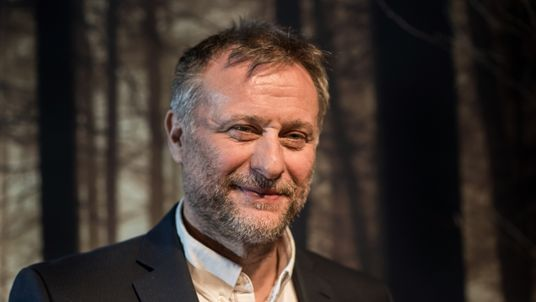 Actor Michael Nyqvist poses during a photo call for the Sky Series Night '100 Code' on March 15, 2015 in Munich, Germany