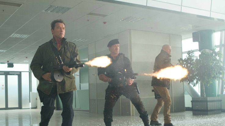 Schwarzenegger, Stallone and Willis are very, very expendable