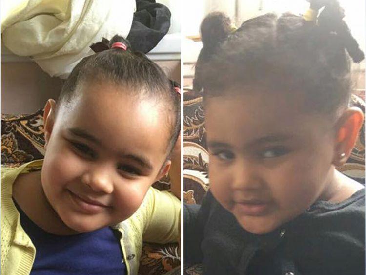 Fathia and Hania Ibrahim