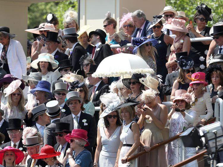 The heatwave has seen Royal Ascot abandon its strict dress code