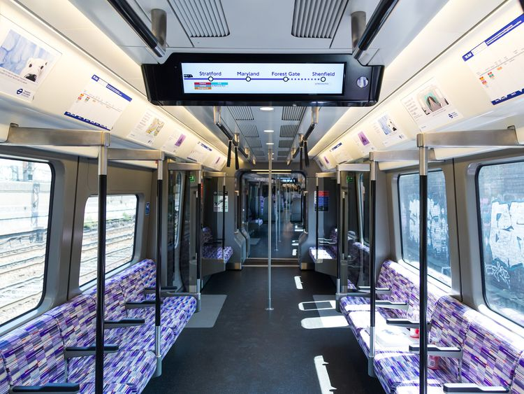 You Can Ride An Elizabeth Line Crossrail Train TODAY!