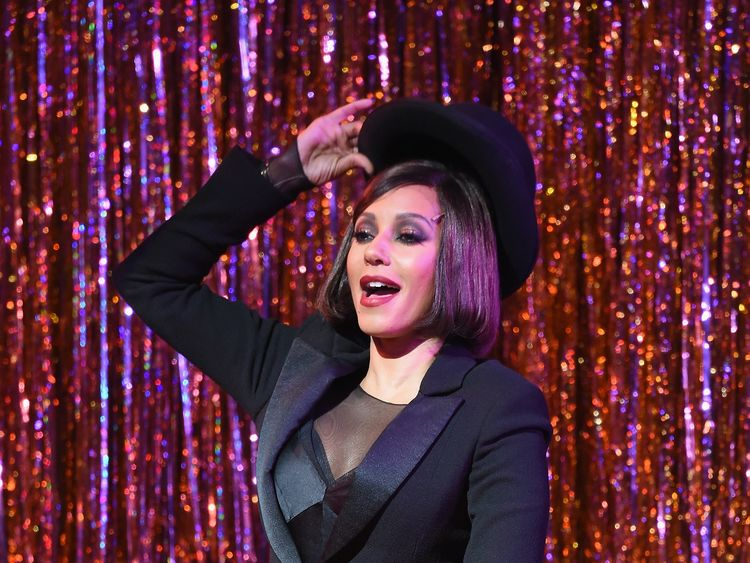 Singer Mel B joins the cast of Broadway's 'Chicago' at Ambassador Theatre on January 3, 2017