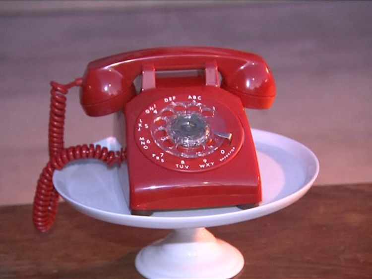 LA's police chief stood next to a red phone that looked like the one used by Gotham City's commissioner