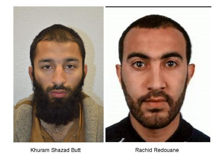 Image result for Two London Bridge attackers named,