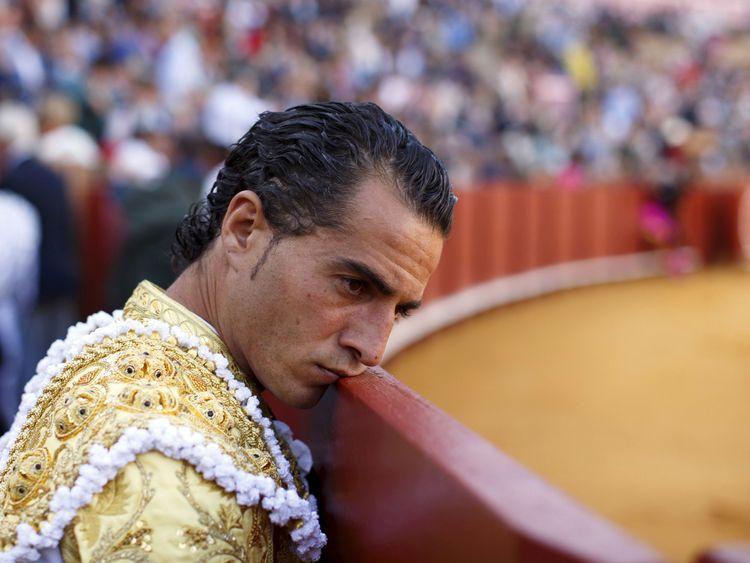 Spanish matador Ivan Fandino in 2015