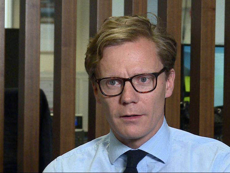 Chief executive of Cambridge Analytica Alexander Nix said the Tories ran an 'absurd' campaign