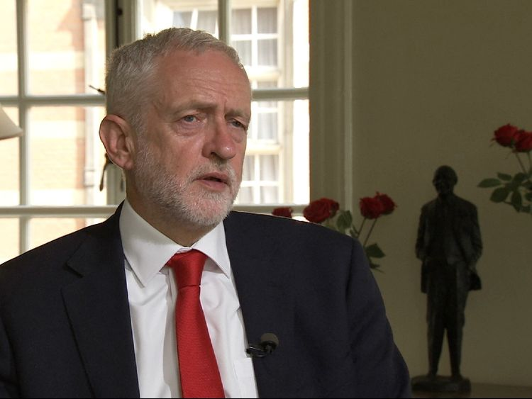 Corbyn says Labour is ready to govern