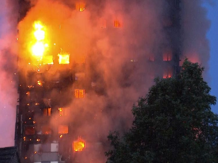 79 people presumed dead in London tower block fire
