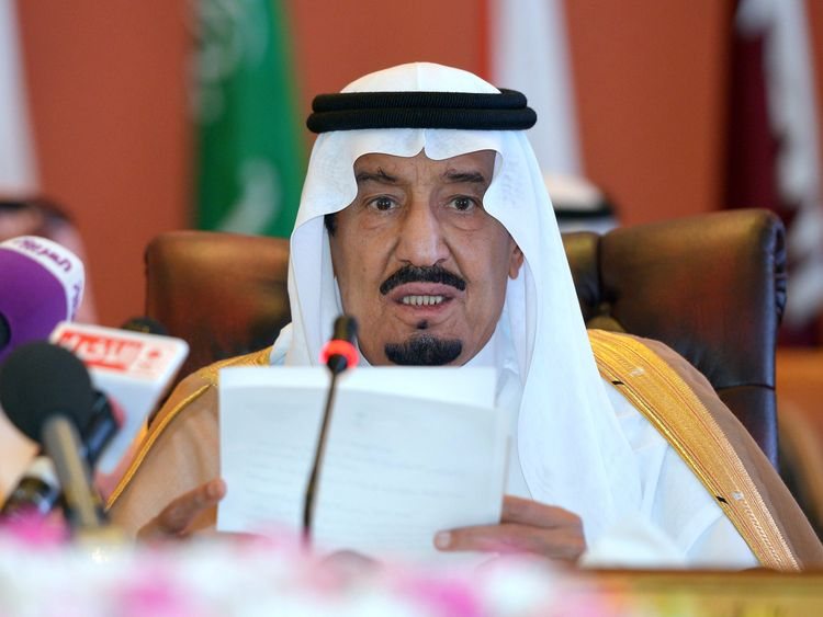King Salman may be hoping to end talk of a succession struggle