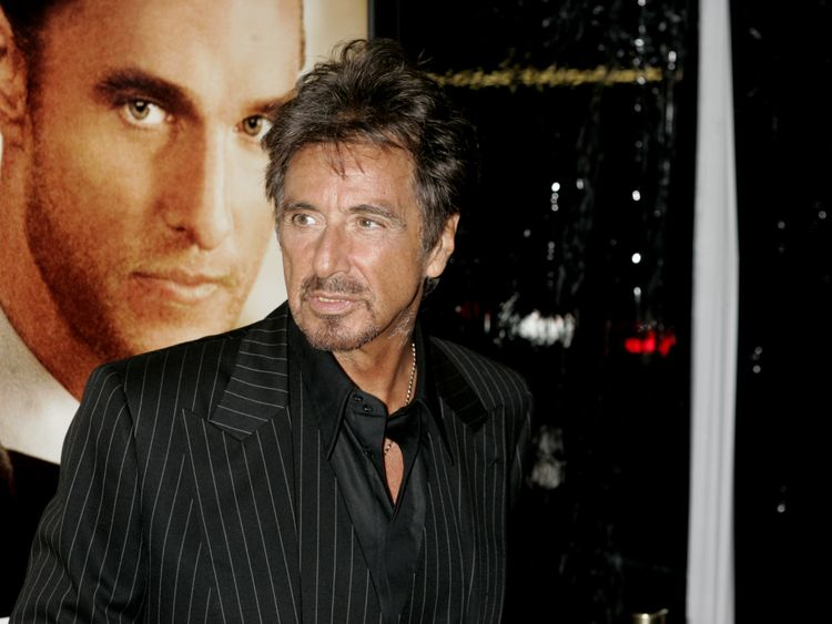 Al Pacino at the Two For The Money premiere in 2005