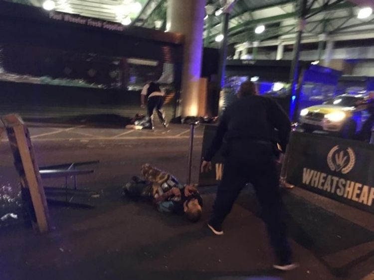 London terror trio conspired at gym just five days before attack