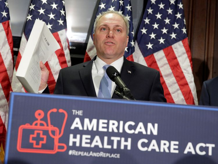 US Congressman Steve Scalise is said to have been hit during a shooting at a baseball practice